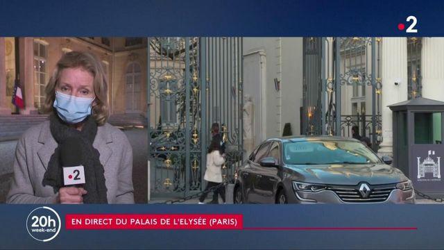 Assassinat de Samuel Paty : Emmanuel Macron tient un conseil de défense