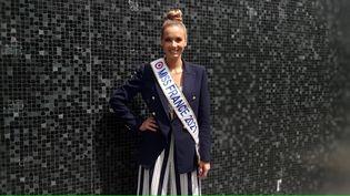 Miss France 2021, Amandine Petit. (SEBASTIEN BAER / RADIO FRANCE)