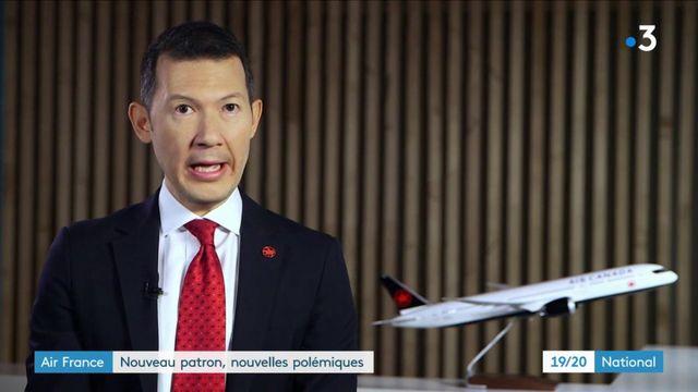 Air France : nouveau patron, nouvelles polémiques