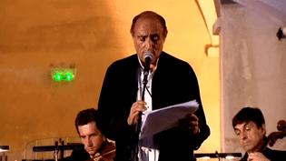 Daniel Mesguich au festival de Cimiez à Nice.  (Culturebox / capture d'écran)