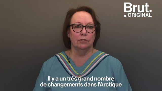 """L'Arctique se réchauffe et les Inuits en sont les premières victimes. La militante québécoise Sheila Watt-Cloutier réclame un """"droit au froid""""."""