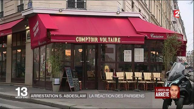 Attentats de Paris : les Franciliens réagissent à l'arrestation de Salah Abdeslam