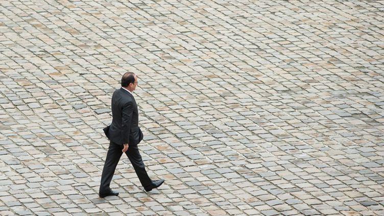 (François Hollande rendra hommage aux victimes des attentats de Paris © MAXPPP)