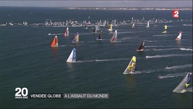Vendée Globe : les navigateurs sont partis à l'assaut du monde