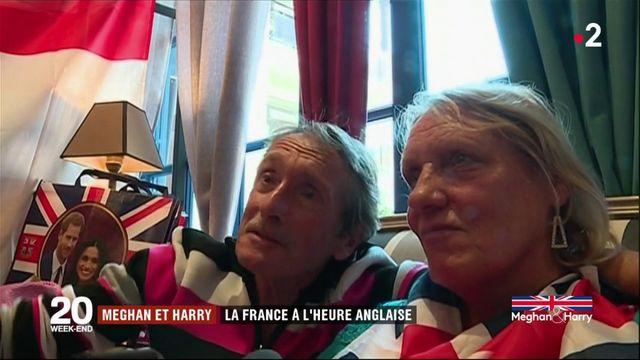 Mariage de Harry et Meghan : la France à l'heure anglaise