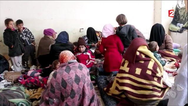 Syrie : 30 000 candidats à l'exil, la Turquie garde la frontière fermée