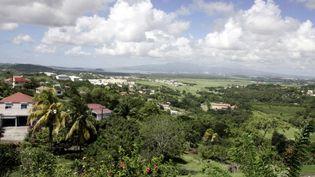 Vue de l'île de la Martinique.  (PASCAL PAVANI / AFP)