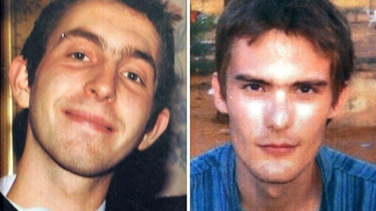 Vincent Delory (à gauche) et Antoine de Léocour (à droite) (AFP - DENIS CHARLET)