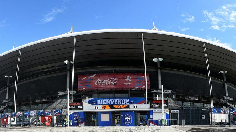 Le Stade de France, à Saint-Denis (Seine-Saint-Denis), le 28 mars 2016. (FRANCK FIFE / AFP)