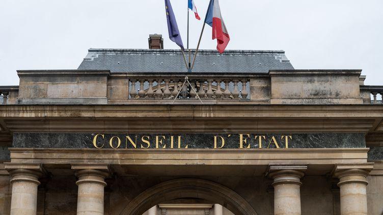 Le Conseil d'Etat, à Paris. (RICCARDO MILANI / HANS LUCAS / AFP)