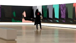 """""""Shadows"""" d'Andy Warhol au Musée Guggenheim de Bilbao  (France3/Culturebox)"""