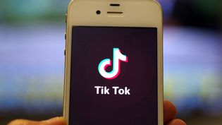 Un utilisateur ouvre l'application TikTok sur son mobile, le 14 janvier 2019, à Jinan (Chine). (DA QING / IMAGINECHINA / AFP)