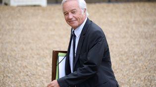 François Rebsamen, ministre du Travail, à l'Elysée, à Paris, le 27 août 2014. (BERTRAND GUAY / AFP)