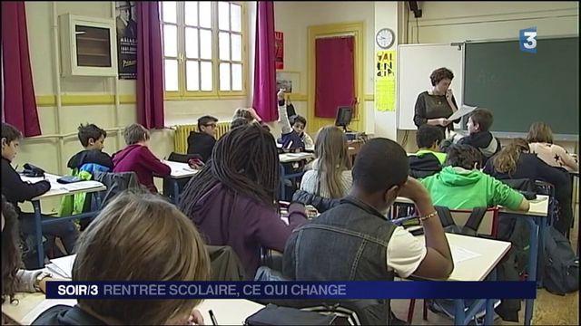 Éducation : les nouveautés de la rentrée scolaire 2017