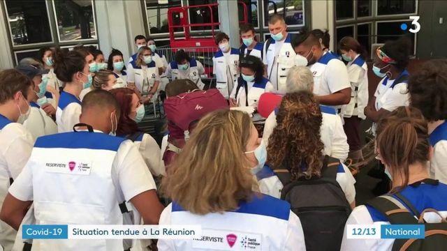 Covid-19 : la situation s'aggrave sur l'île de La Réunion
