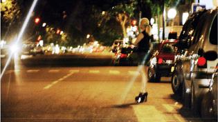 Une prostituée à Paris, le 8 juillet 2003. (ROHMER / WPA / SIPA)