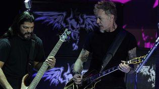 Metallica sur scène, novembre 2011.  (AGF s.r.l. / Rex Featur/REX/SIPA)