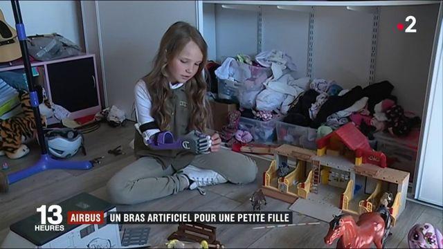 Tarn : un bras artificiel pour une petite fille grâce à Airbus