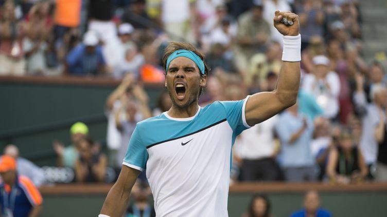 Rafael Nadal a rugi comme à ses plus beaux jours (MIKE FREY / BACKPAGE IMAGES LTD)