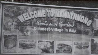 """Mawlynnong en Inde a reçu le titre de """"village le plus propre d'Asie"""". (FRANCE 2)"""