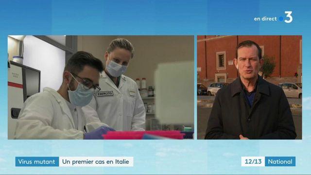Italie : un premier cas lié au virus mutant