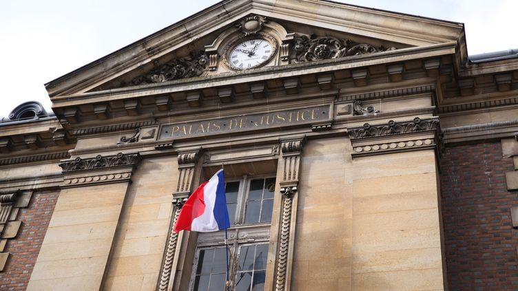 Le palais de justice de Versailles. (OLIVIER BOITET / MAXPPP)