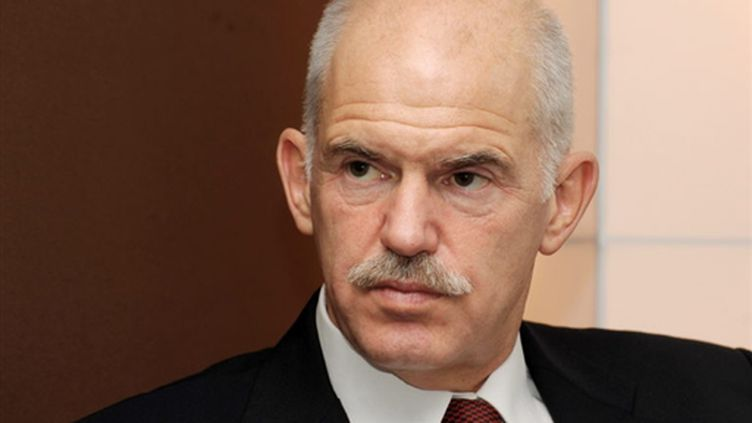 Réduction drastique des déficits: le défi numéro un à relever pour le Premier ministre grec Georges Papandréou. (AFP - Eric Piermont)