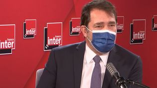 Christophe Castaner, président du groupe La République en Marche à l'Assemblée nationale, est l'invité du Grand entretien de France Inter. (FRANCEINTER / RADIOFRANCE)