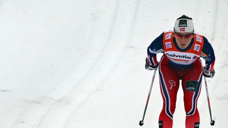 Marit Bjoergen est intouchable cette saison  (KARL-JOSEF HILDENBRAND / DPA)