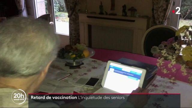Vaccin contre le Covid-19 : le casse-tête des plus de 75 ans pour obtenir un rendez-vous