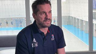 Guillaume Gille, sélectionneur de l'équipe de France de handball. (RADIO FRANCE)