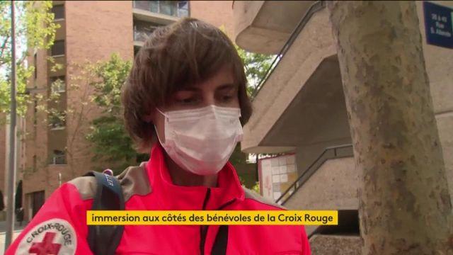 Les bénévoles de la Croix-Rouge face au coronavirus
