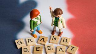 Le grand débat national. (RICCARDO MILANI / HANS LUCAS)