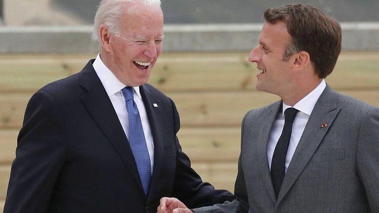G7 : premières retrouvailles entre leaders en présentiel (France 2)