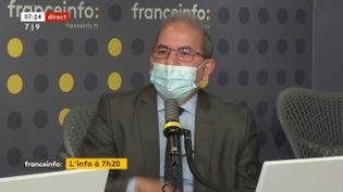 Mohammed Moussaoui, le président du Conseil français du culte musulman (CFCM), le 18 janvier 2021 sur franceinfo. (FRANCEINFO / RADIOFRANCE)