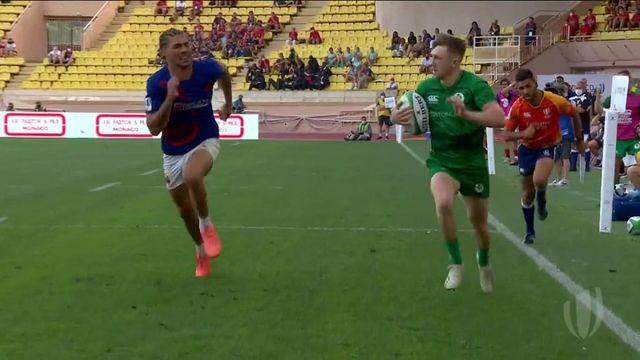 TQO rugby à 7 (H) : les meilleurs moments de France - Irlande