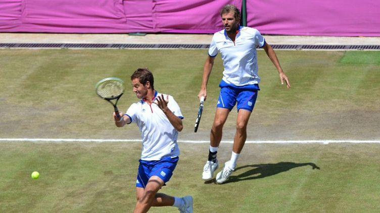 Les Français Richard Gasquet et Julien  Benneteau s'offre la médaille de bronze