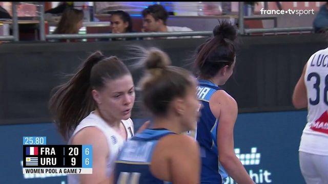 TQO Basket 3x3 (F) : les meilleurs moments de France vs Uruguay