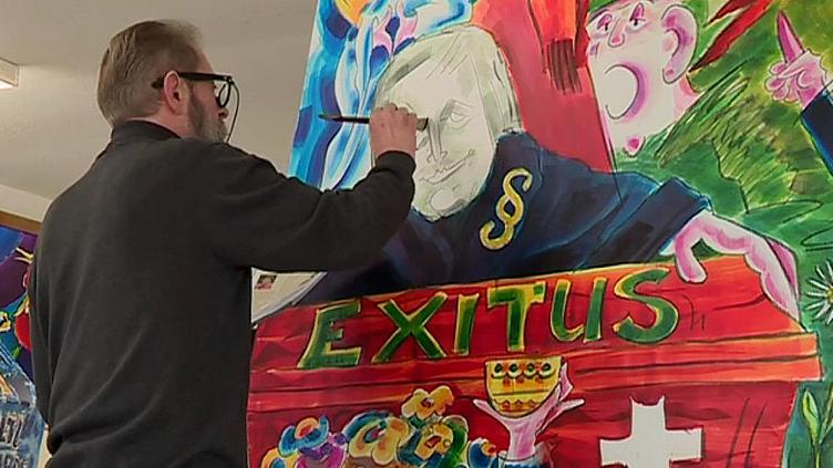 Urs Degen, une passion pour le carnaval de Bâle depuis 49 ans  (France 3 / Culturebox )