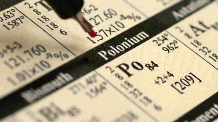Le polonium devient toxique s'il est ingéré ou inhalé. (AXEL SCHMIDT / DDP / AFP)