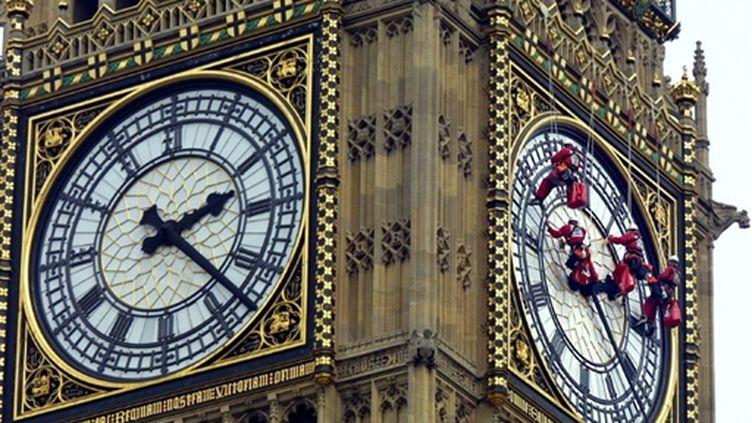 Le g20 à l'heure des choix  (Big Ben à Londres) (AFP)