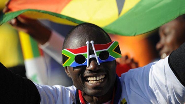 Les supporters ghanéens ont répondu présent.