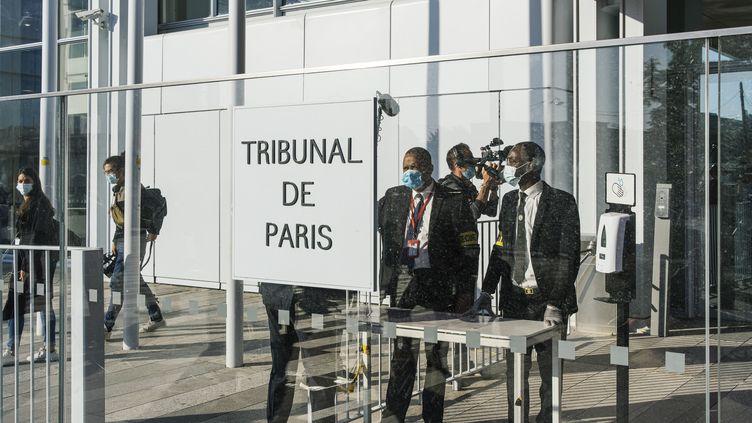 La cour d'assises spéciale de Paris, le 2 septembre 2020. (DENIS MEYER / HANS LUCAS)