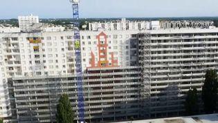 Et si on améliorait des barres HLM vétustes au lieu de les détruire ? À Bordeaux (Gironde), des bâtiments de la cité du Grand Parc ont ainsi été élargis, augmentés d'une coque de métal et de verre qui fait entrer la lumière et offre de la place à leurs habitants. (France 2)