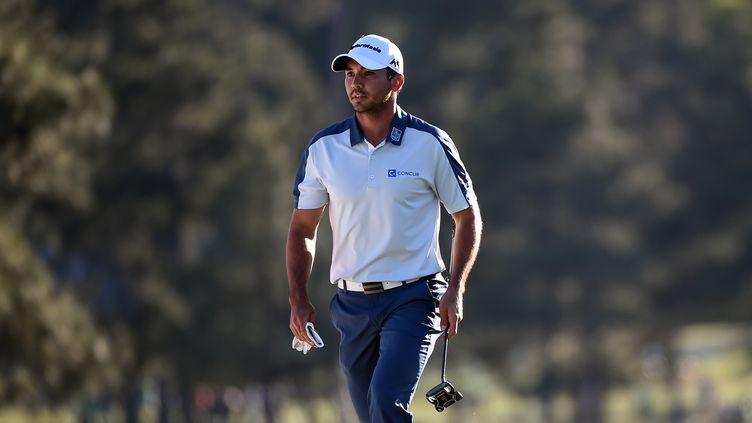 Le golfeur américain Jason Day sur le parcours d'Augusta en 2016 (HARRY HOW / GETTY IMAGES NORTH AMERICA)