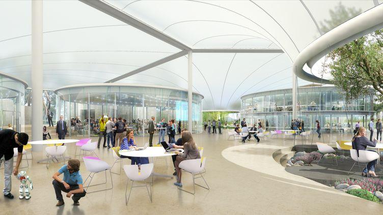 The Camp accueillera toutes sortes d'actitivités axées sur l'innovation (Image Golem)