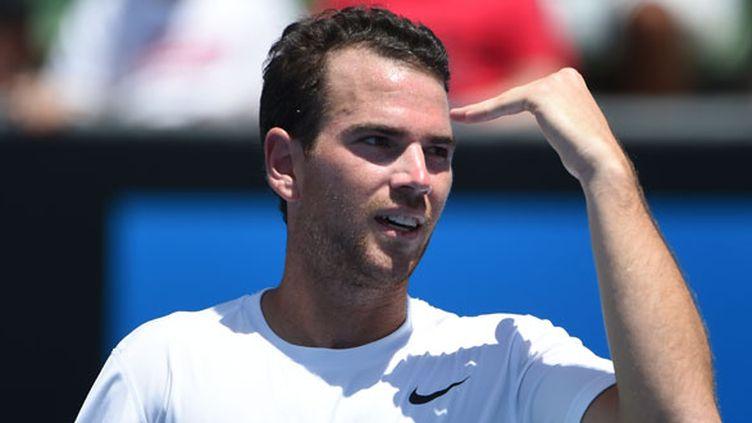 Le joueur français Adrian Mannarino