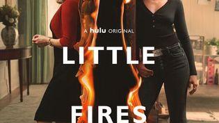 """L'affiche de la série """"Little Fires Everywhere"""" qui sera diffusée sur Amazon Prime Video à partir du 22 mai 2020. (HULU)"""