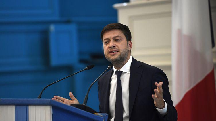 Benoît Payan, adjoint au maire de Marseille, le 24 septembre 2020. (CHRISTOPHE SIMON / AFP)