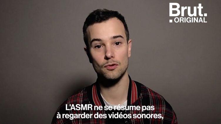 """VIDEO. """"Les effets sont là"""" : Il démonte les clichés autour de l'ASMR, une méthode de relaxation (BRUT)"""